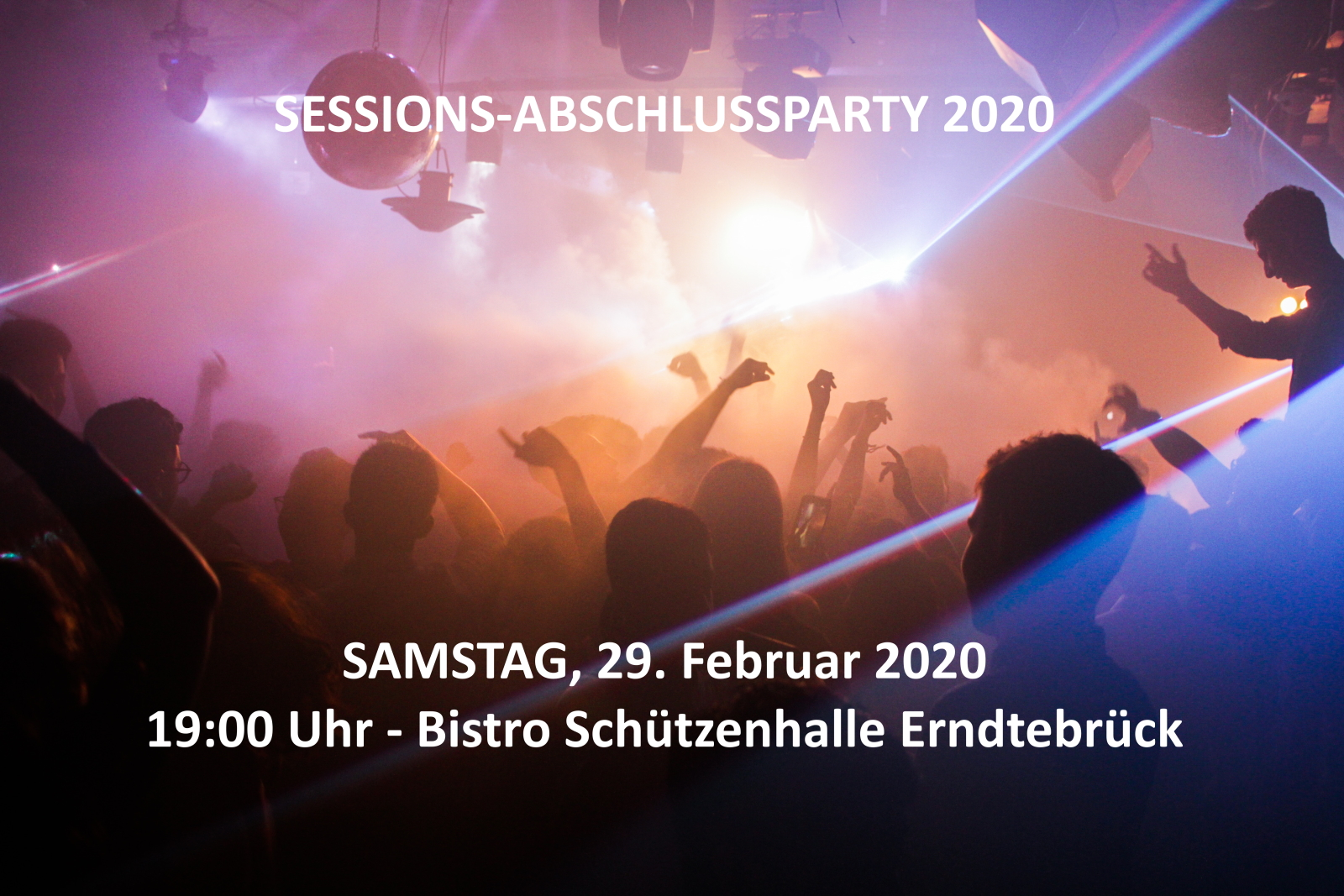 Sessionsabschlussparty
